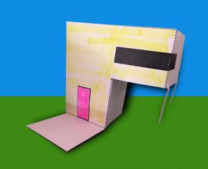 paper modern house