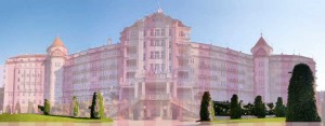 Pink Hotel inspiration for the Grand Budapest Hotel
