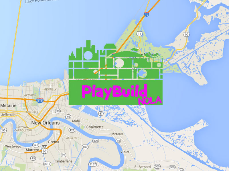 NOLA Playbuild architecture playground in New Orleans Louisiana