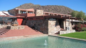 Frank Lloyd Wright's Taliesin West Summer Camp