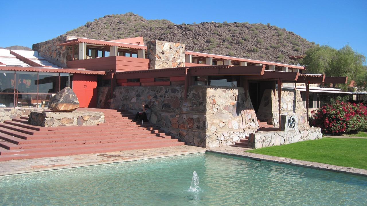 Frank Lloyd Wright's Taliesin West Summer Camp
