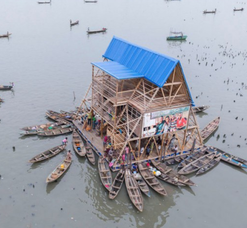 Floating School in Nigeria