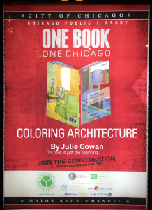 One Book Chicago Coloring Architecture Book