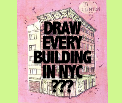 Draw all of NYC buildings?