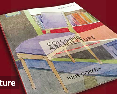 Holiday Gift Idea Of Coloring Architecture Book