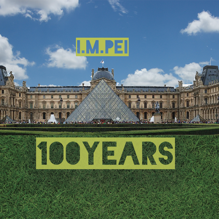 I.M. Pei 100 years old