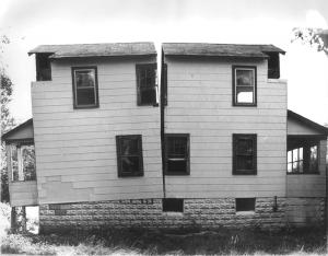 Clark House Divided