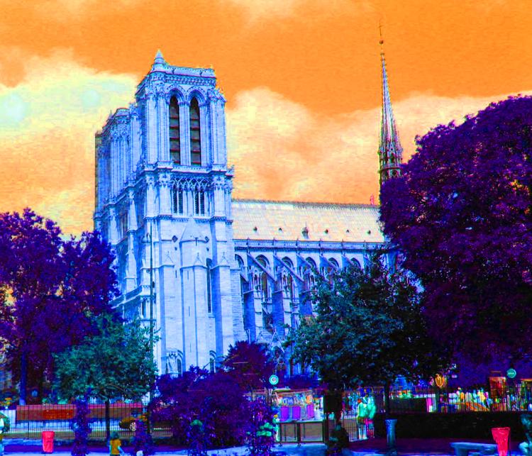 Notre Dame Paris color