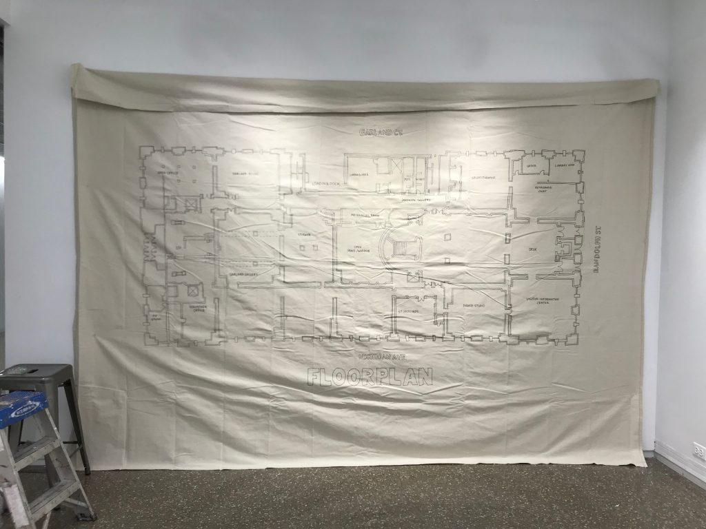 cultural center floor plan