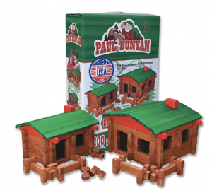 Paul Bunyan Building Set by Roy Toy