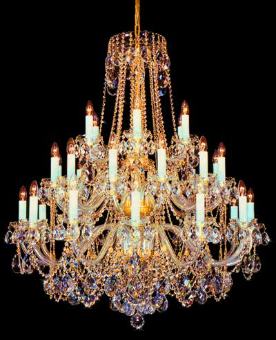 Chandelier and Memory Palaces