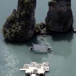 cinema on rafts in Thailand by Buro Ole Scheeren