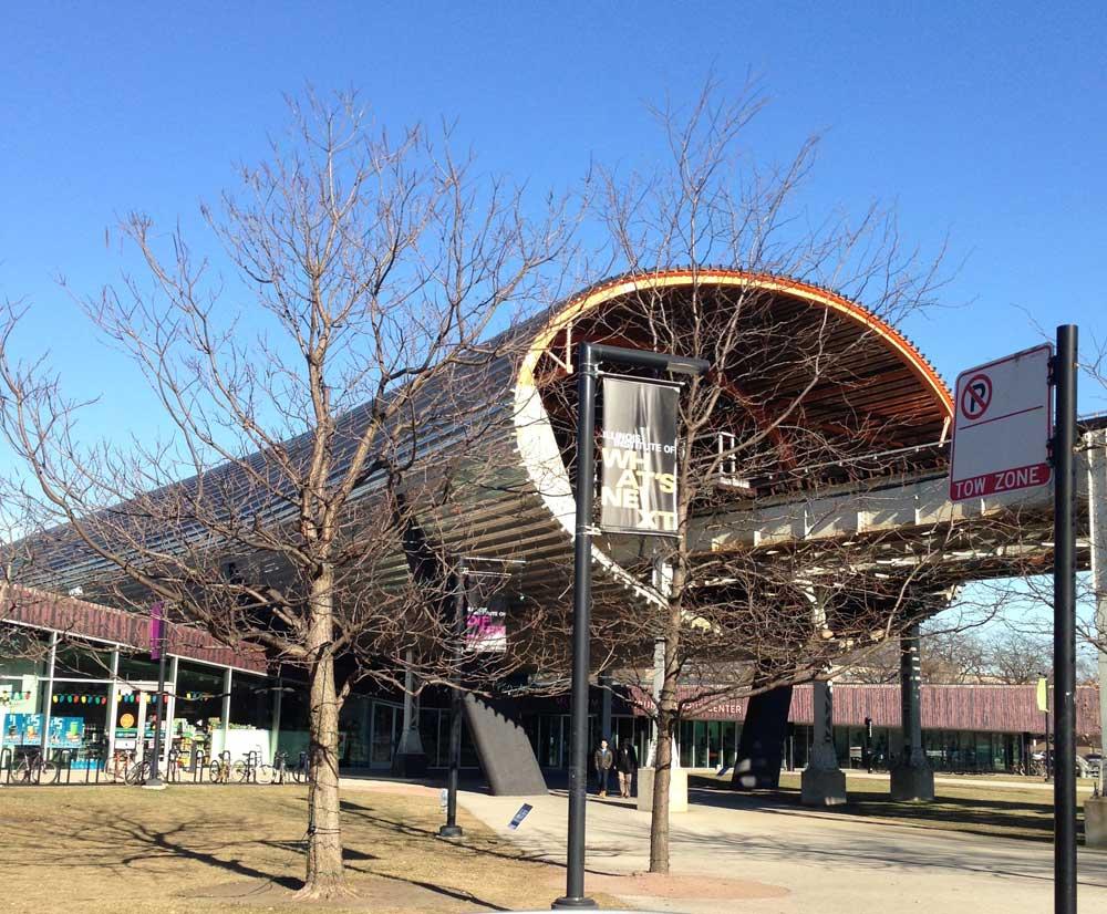 IIT Rem Koolhaas McCormick Tribune Building