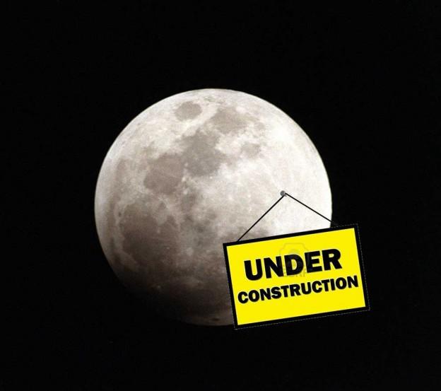 moon construction