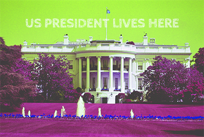 White House in the United States