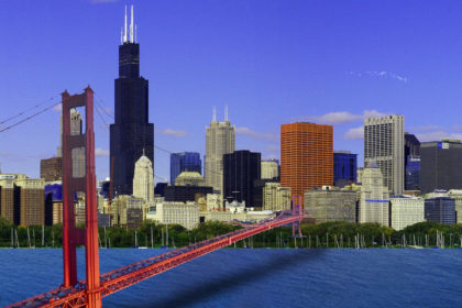 Golden Gate Bridge Chicago