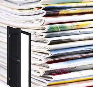 magazines with door