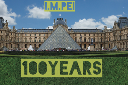 I.M. Pei 100 years old