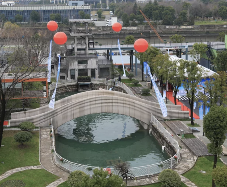 Bridge in Shanghai built with 3D printer
