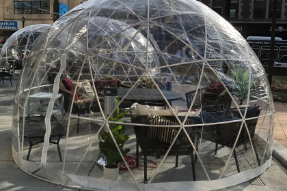 geodesic dome in Evanston