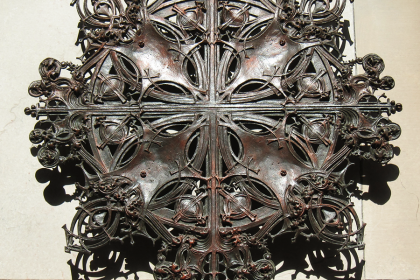 Louis Sullivan decorative detail from the collection at the Art Institute of Chicago