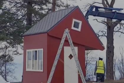 Brette Haus - a folding house