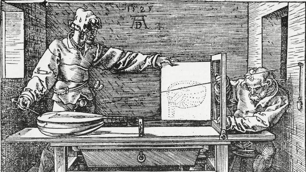albrecht durer drawing machine