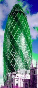 The Gherkin by Foster + Partners